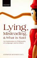 Lying, Misleading, and What is Said:...