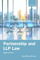 Partnership and LLP Law 8e