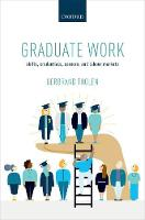 Graduate Work: Skills, Credentials,...