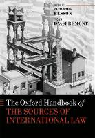 The Oxford Handbook of the Sources of...