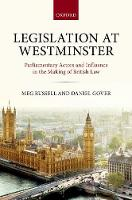 Legislation at Westminster:...