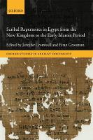 Scribal Repertoires in Egypt from the...
