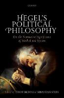 Hegel's Political Philosophy: On the...