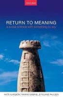 Return to Meaning: A Social Science...