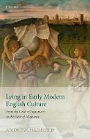 Lying in Early Modern English ...
