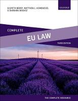Complete EU Law: Text, Cases, and...
