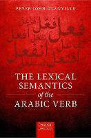 The Lexical Semantics of the Arabic Verb