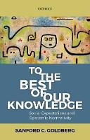 To the Best of Our Knowledge: Social...