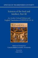 Sciences of the Soul and Intellect,...