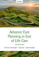 Advance Care Planning in End of Life...