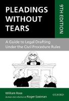 Pleadings Without Tears: A Guide to...