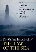 The Oxford Handbook of the Law of the...