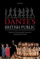 Dante's British Public: Readers and...