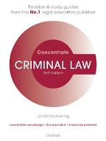 Criminal Law Concentrate: Law ...