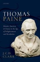 Thomas Paine: Britain, America, and...