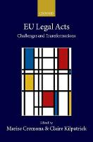 EU Legal Acts: Challenges and...