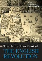 The Oxford Handbook of the English...