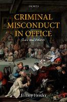 Criminal Misconduct in Office: Law ...