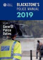 Blackstone's Police Manuals Volume 4:...