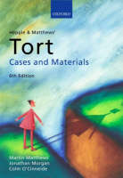 Hepple and Matthews' Tort: Cases and...