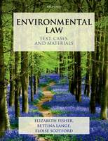 Environmental Law: Text, Cases, and...