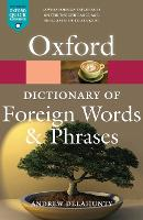 Oxford Dictionary of Foreign Words ...