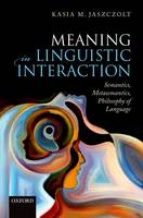 Meaning in Linguistic Interaction:...