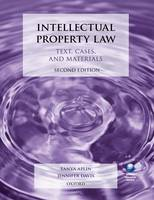 Intellectual Property Law: Text,...