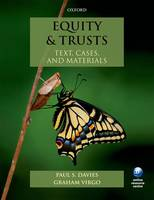 Equity & Trusts: Text, Cases, and...
