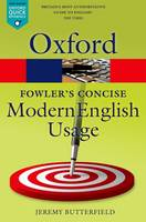 Fowler's Concise Dictionary of Modern...