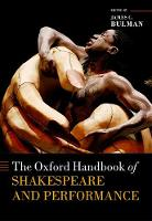 The Oxford Handbook of Shakespeare ...