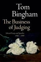 The Business of Judging: Selected...
