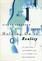 Holding on to Reality: The Nature of...