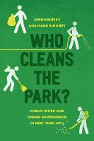 Who Cleans the Park?: Public Work and...