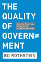 The Quality of Government: ...