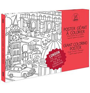 Giant Coloring Posters - London ...