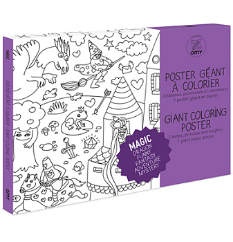 Giant Coloring Posters - Magic (1.14m...