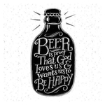 Beer is Proof Greeting Card