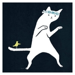 Karate Cat Greeting card