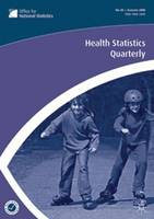 Health Statistics Quarterly: No. 40:...