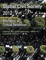 Global Civil Society: Ten Years of...
