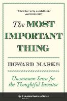 The Most Important Thing: Uncommon...