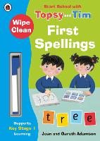 Wipe-Clean First Spellings: Start...