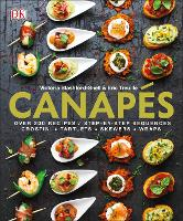 Canapes: Victoria Blashford-Snell and...