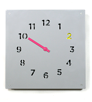 Wall Clock Grey