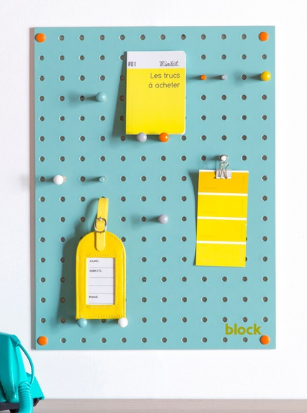 Pegboard Blue Small