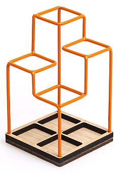 Sketch Desk Tidy Orange