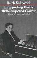 Interpreting Bach's Well-Tempered...