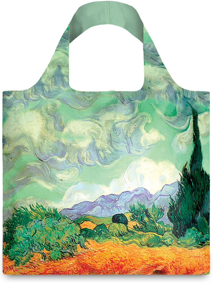 Wheat Field by Vincent Van Gogh Bag
