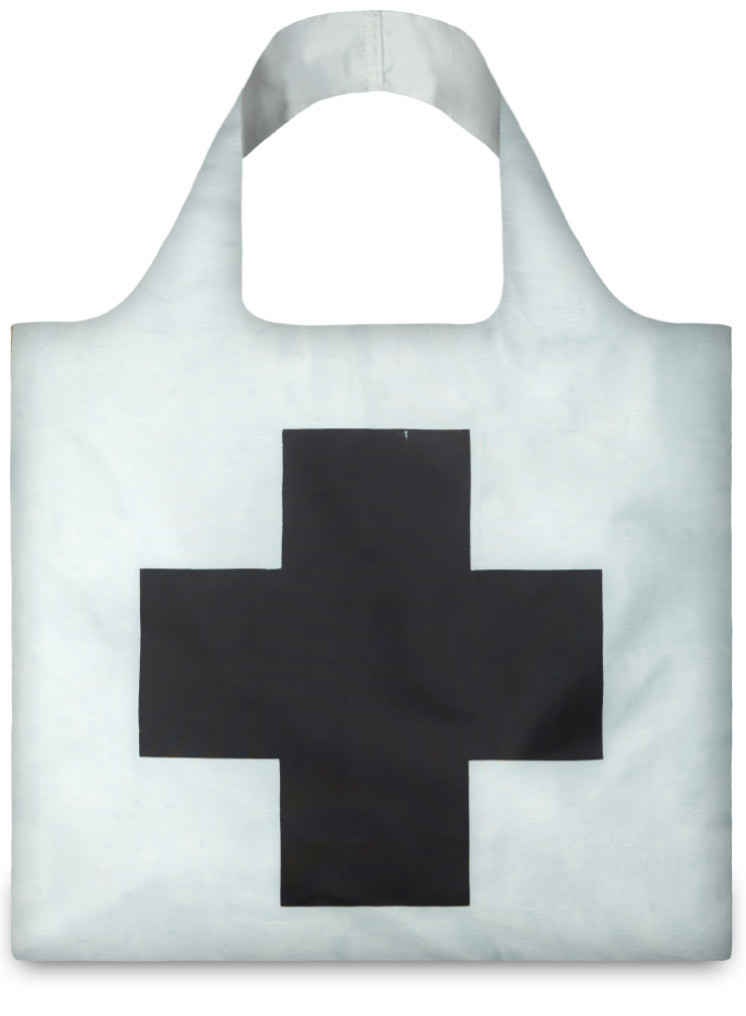 Black Cross by Kazimir Malevich Bag